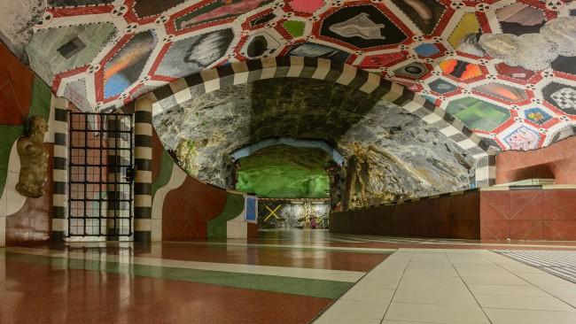 Kungsträdgården metro station | ©Arild|Flickr