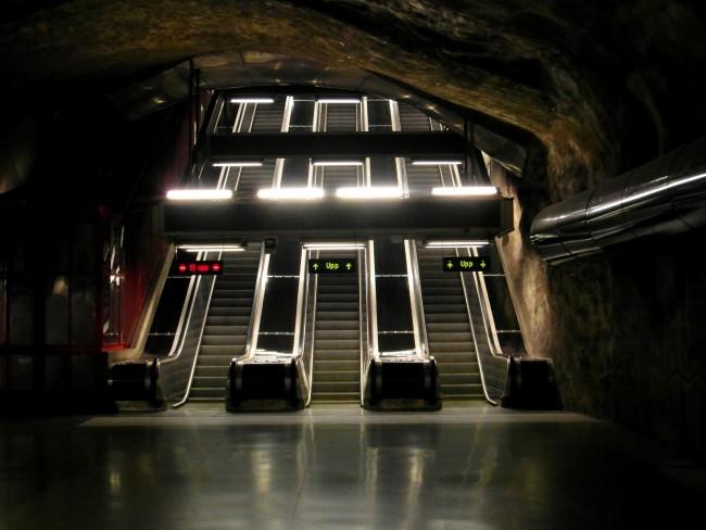 Stockholm - Tunnelbana - Kungsträdgården |©Ingolf/Flickr