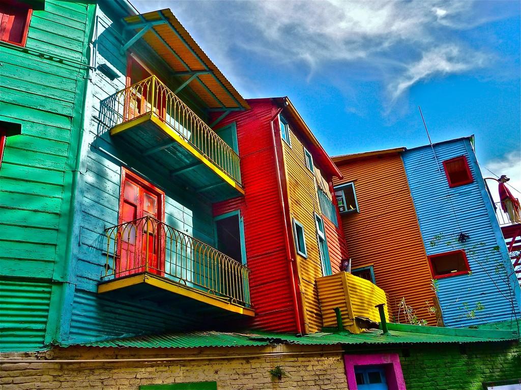 La Boca neighborhood in Buenos Aires / © Marissa Strniste / Flickr
