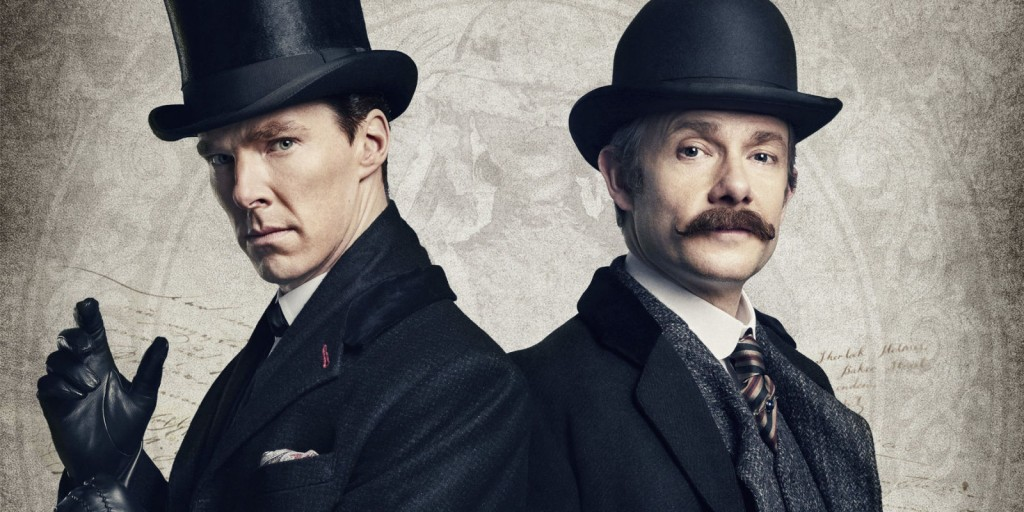 Benedict Cumberbatch and Martin Freeman | © BBC