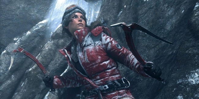 Lara Croft in 'Rise of the Tomb Raider' | © BagoGames / Flickr