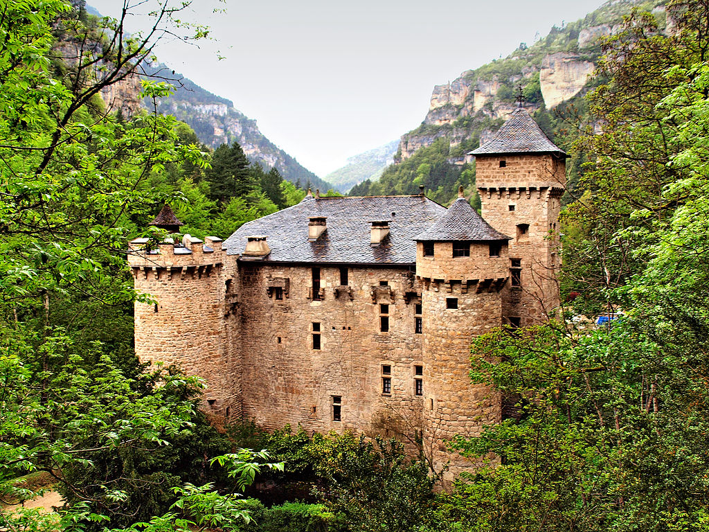 Château De La Caze | © Pierre Bona/ WikiCommons