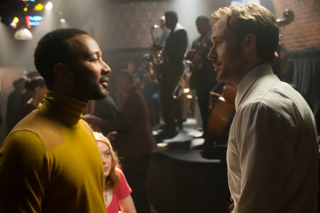 John Legend and Ryan Gosling spend ages 'Jazzplaining' in 'La La Land' | © Lionsgate