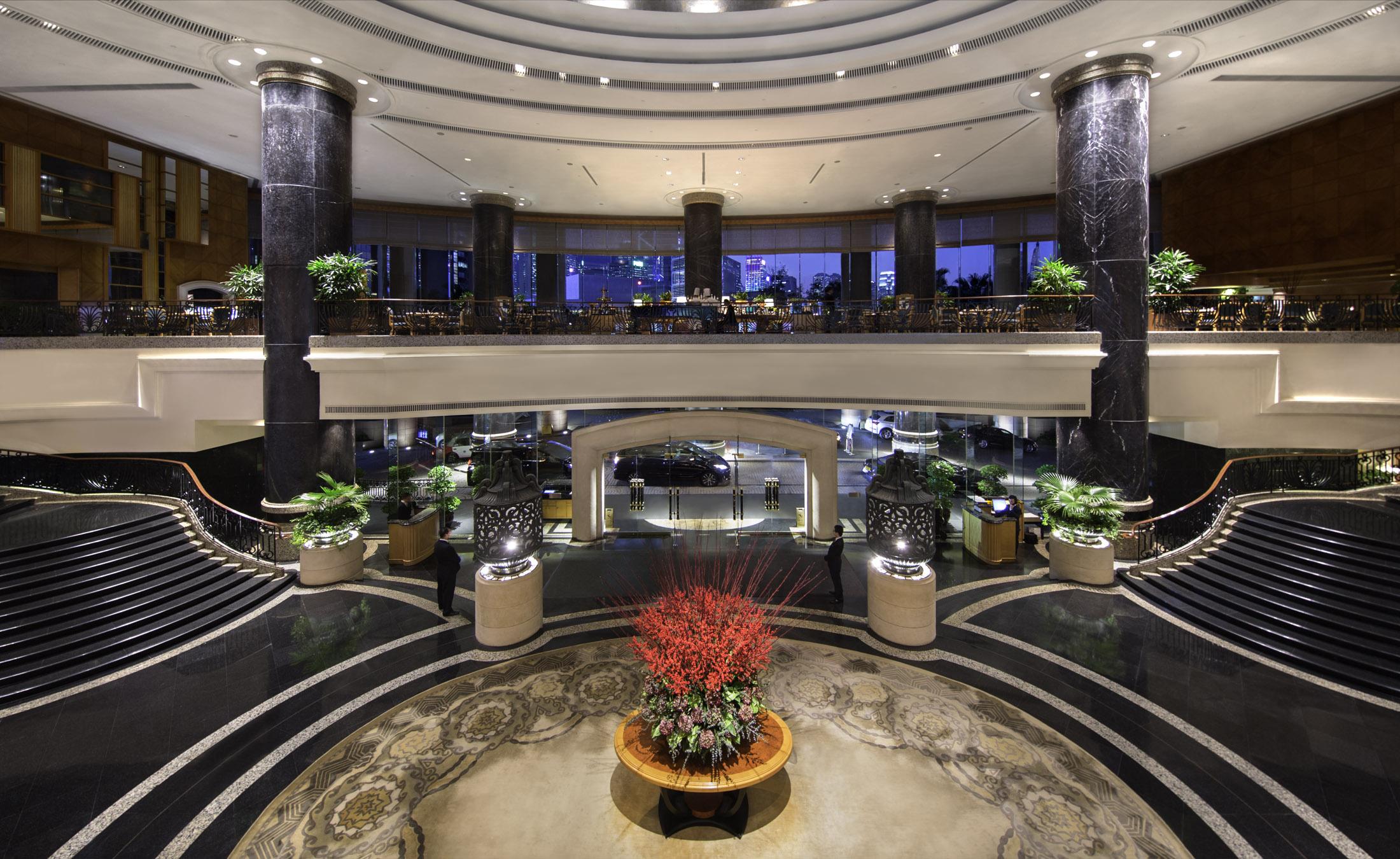 Lobby | Courtesy of the Grand Hyatt