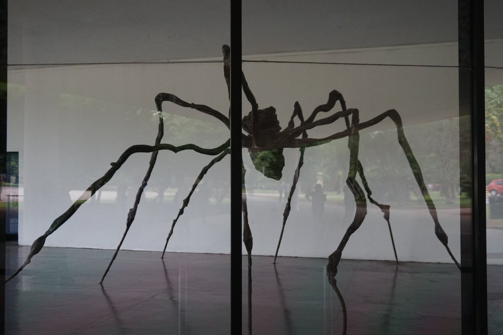 Maman sculpture at MAM Sao Paulo © by Matt Kieffer Flickr CC