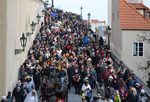 Masopust Parade   ©David Sedlecký / Wikimedia Commons