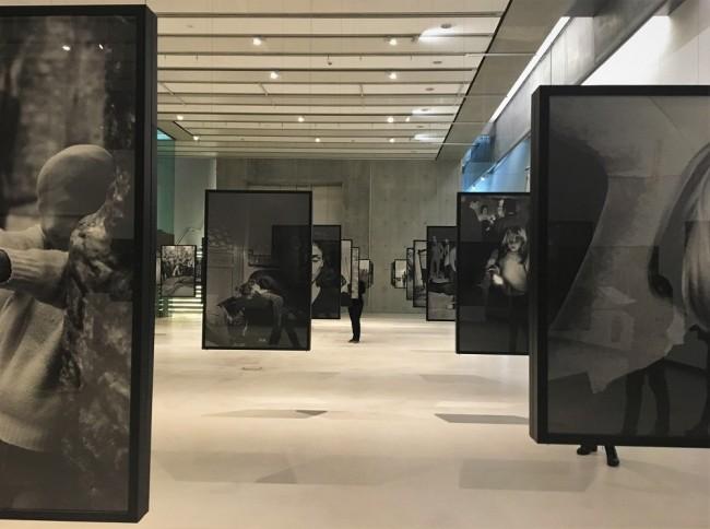 Exhibition view of Battaglia's Per Pura Passione at the MAXXI, Courtesy Photo   Lisa Morales