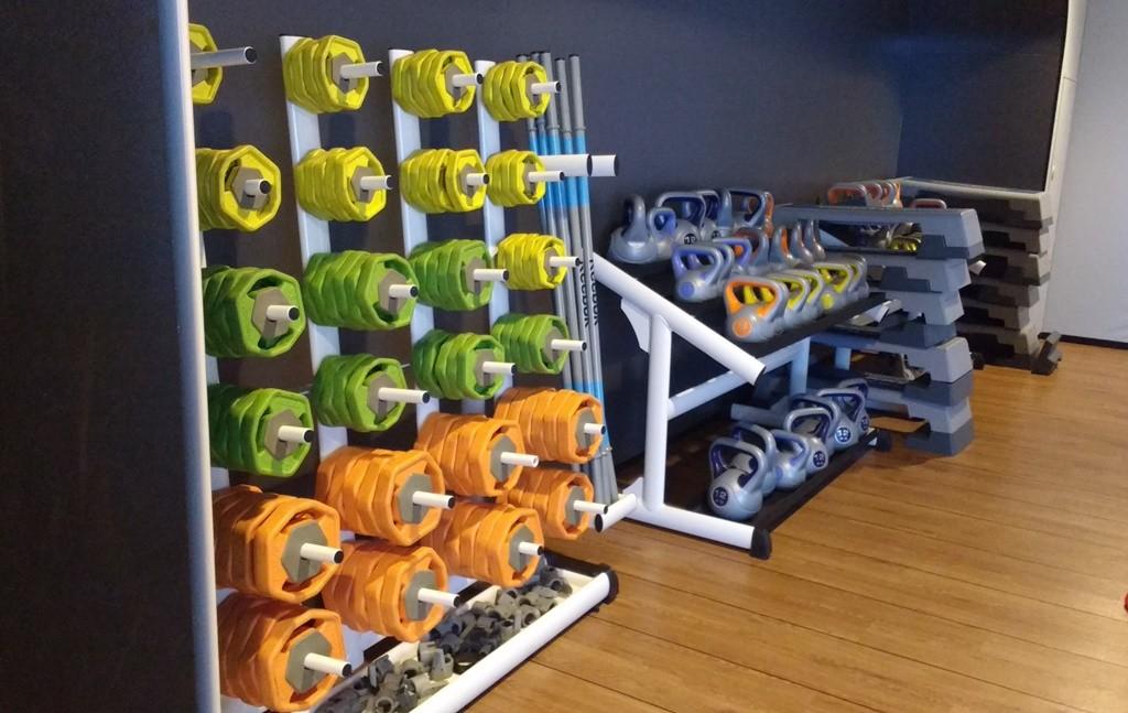 McFit's weight room | © Jorge Ortega Villanueva