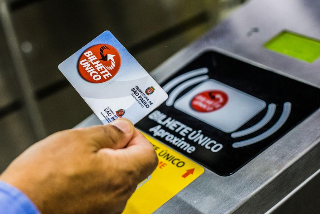São Paulo Metro Ticket Bilhete Unico © Moreira Flickr
