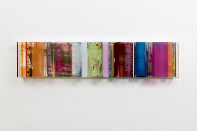 Michael Laube 26– 6 2016, acrylic paint on acrylic glass, on view at Kuckei + Kuckei Gallery | Courtesy of Kuckei + Kuckei Gallery (Berlin, Germany)