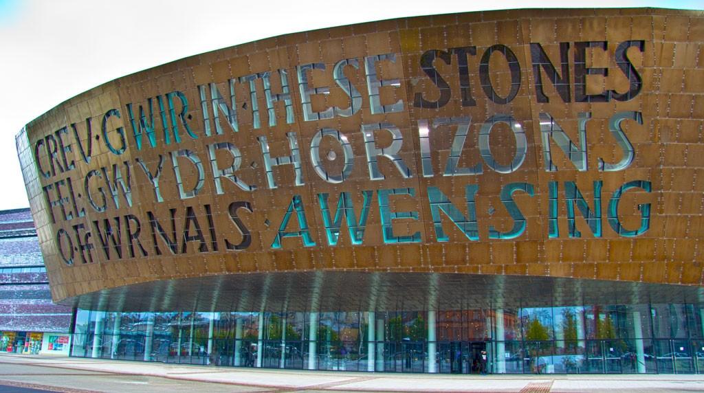The beautiful Millennium Centre
