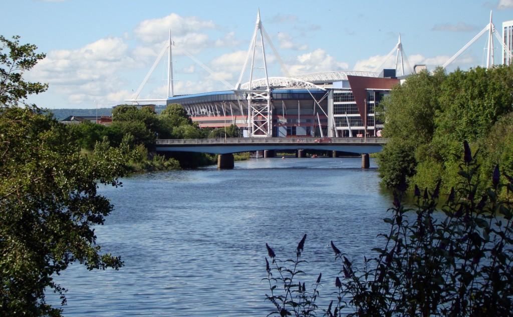 Millennium Stadium next to the Taff|©Jon Candy/Flickr
