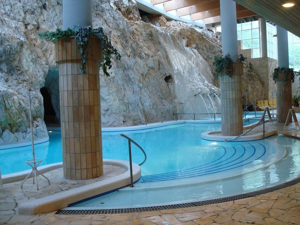 Miskolc cave bath Hungary