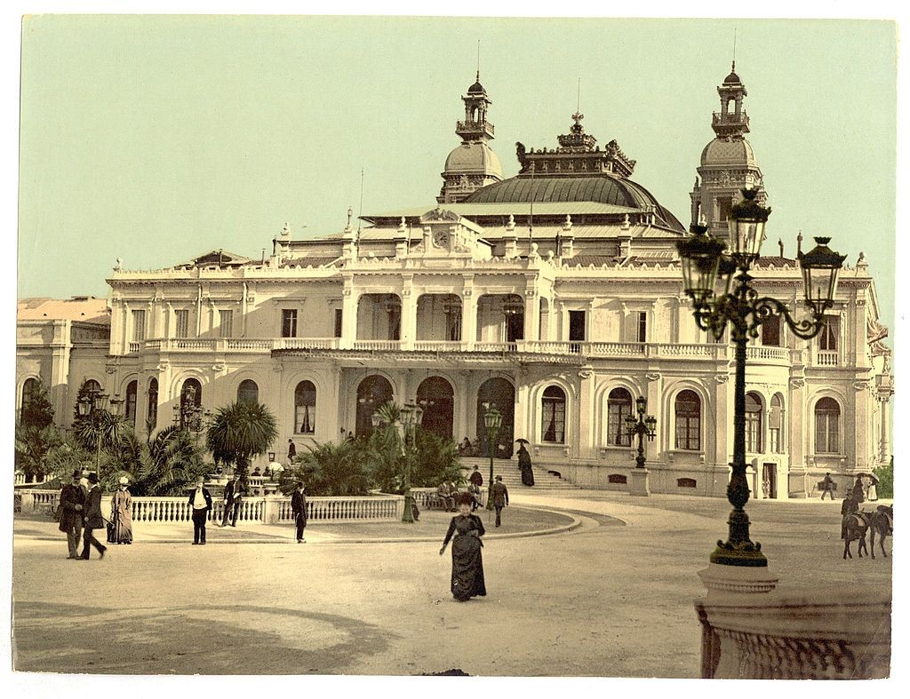 The Monte Carlo casino between 1890 and 1900 | © US Library of Congress/WikiCommons
