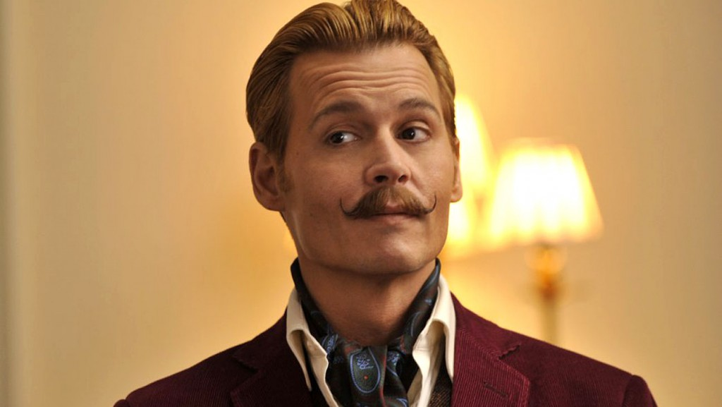 Johnny Depp in Mortdecai (2017) | Courtesy of Lionsgate