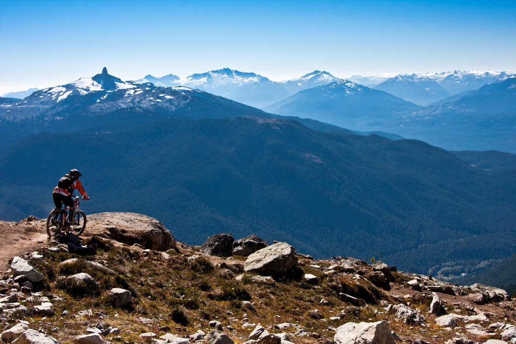 Views from Whistler's Mountain Bike Park | © Ronia Nash/Flickr
