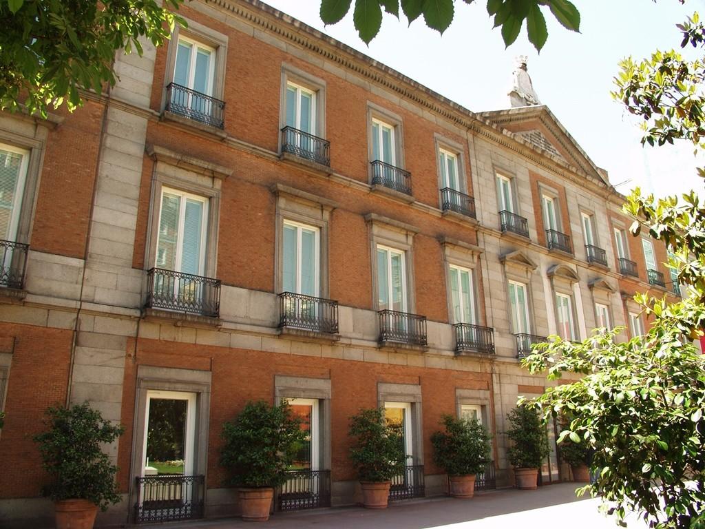 The outside of the Thyssen Museum | © Madrid Destino Cultura Turismo y Negocio