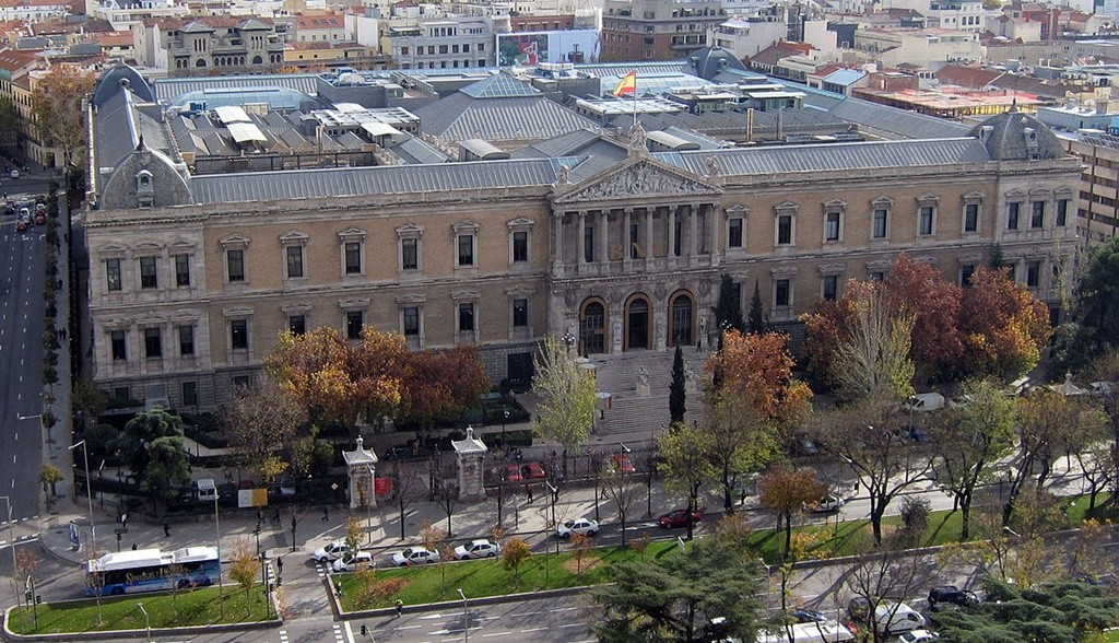 Check out Madrid's National Library to view some romantic poetry and literature | © Wikipedia