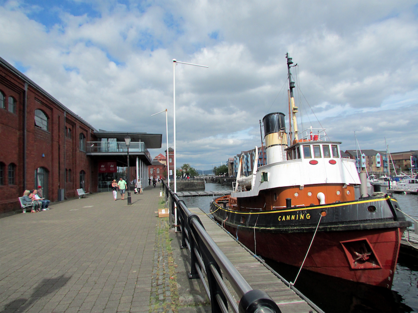 National Waterfront Museum in Swansea|©Tom Bastin/Flickr