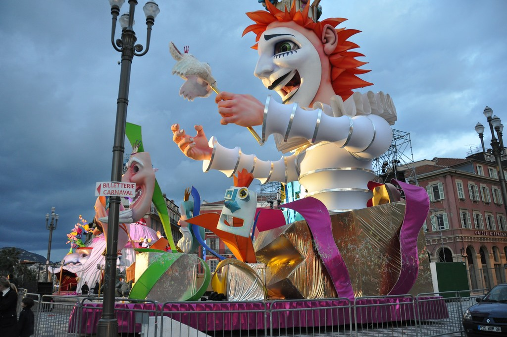 Visit Nice during its carnival to party in the streets | © Trans World Productions/flickr