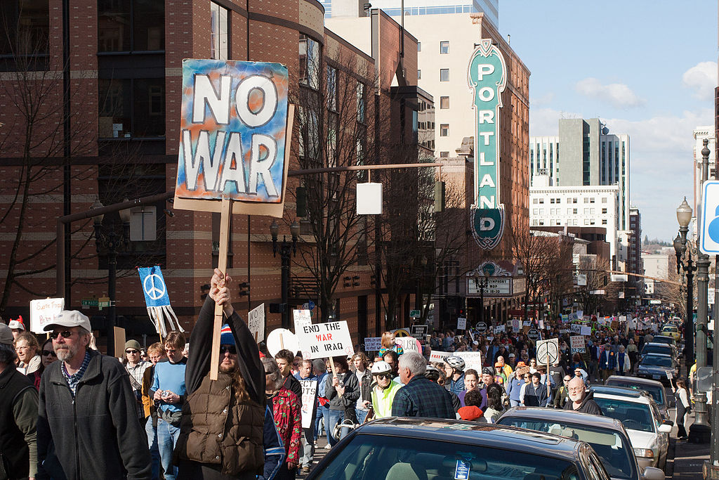 No war pdx | © Headwes/WIkiCommons