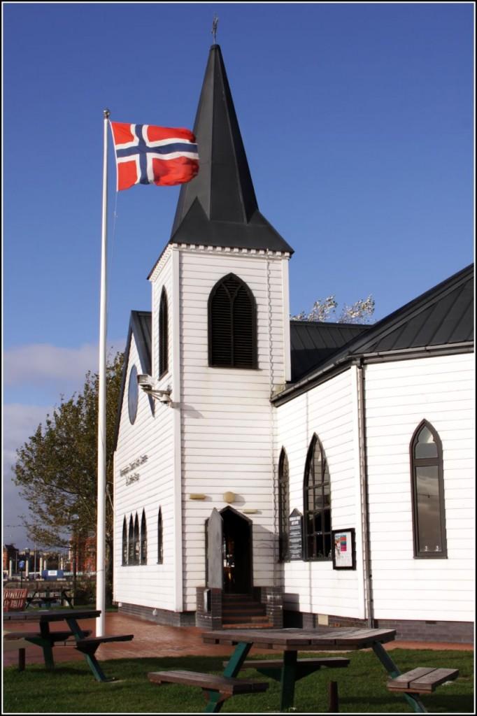 Norwegian Church where Roald Dahl was baptised
