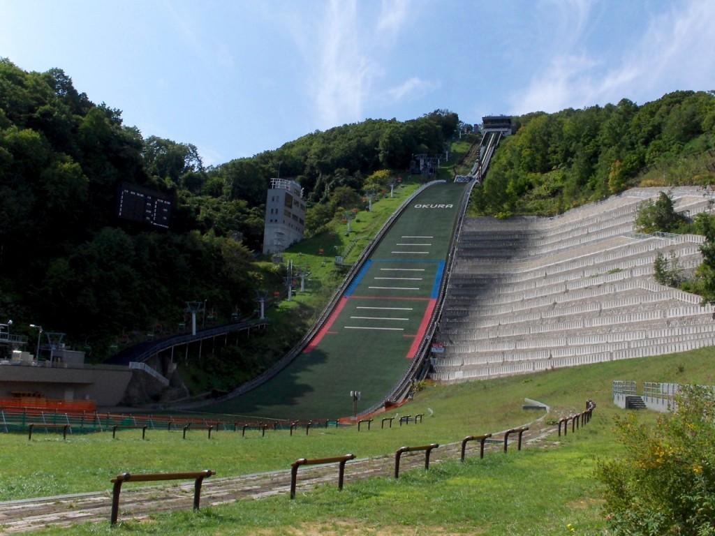 Okurayama Ski Jump Stadium, Sapporo, Japan. | © Daigaku2051 / Wikimedia Commons