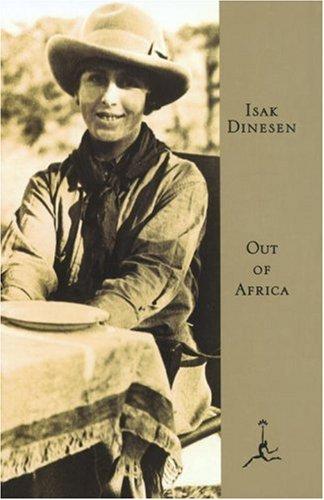 Out of Africa by Isak Dinesen (Karen Blixen)   Courtesy of Guild Publishing London