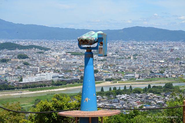 Panormaic View from Arashiyama Monkey Park