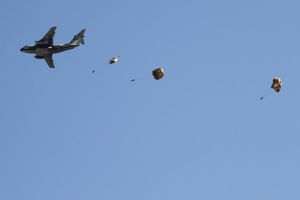 Parachuting |©Takashi Hososhima/Flickr