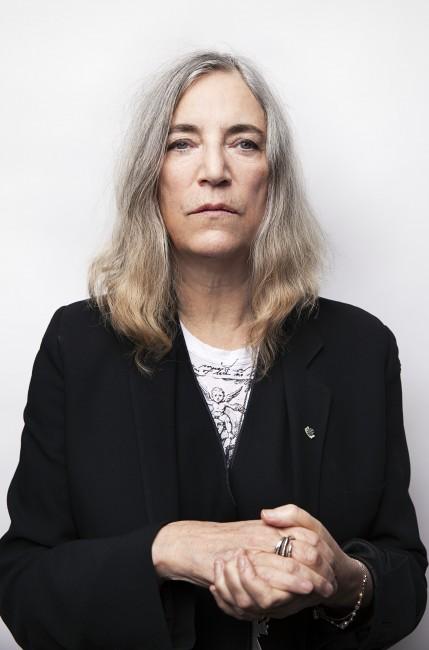 A head shot of Patti Smith