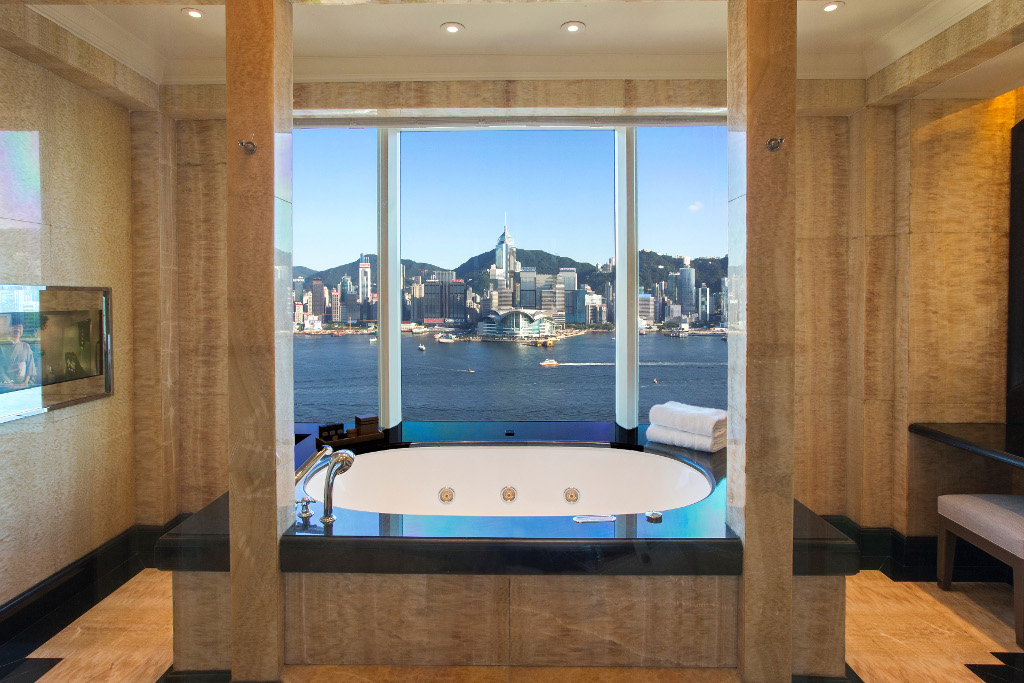 The Peninsula Suite Bathroom/Courtesy of the Peninsula Hotel