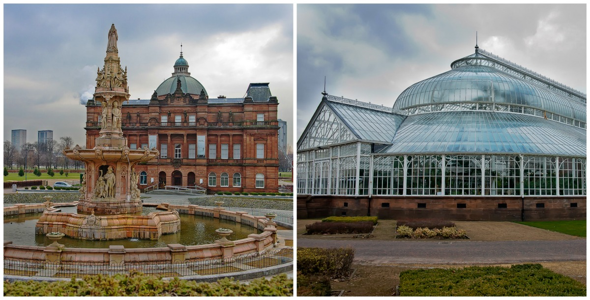 Peoples Palace | © dun_deagh/Flickr // Winter Gardens | © dun_deagh/Flickr