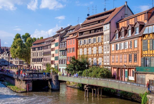 The charming district of Petit France in Strasbourg ©Phillipe de Rexel / OT Strasbourg