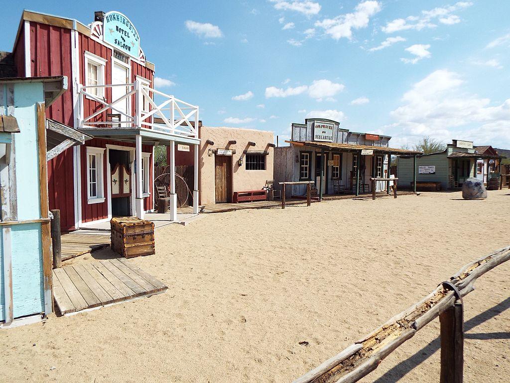 Phoenix-Pioneer Living History Museum-Main Street | © Marine 69-71/WikiCommons