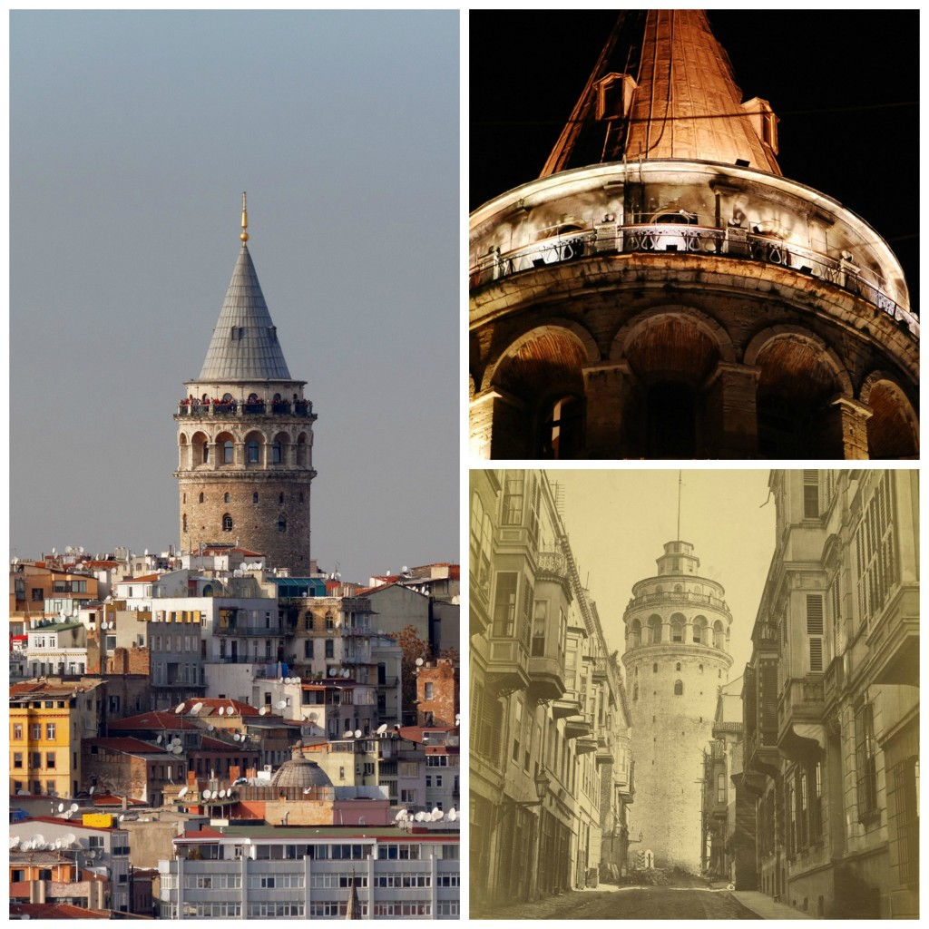 Istanbul | © Alexxx Malev/Flickr | Galata Tower | © Osman Kalkavan | Galata Tower | © Cornell University Library/Wikimedia Commons
