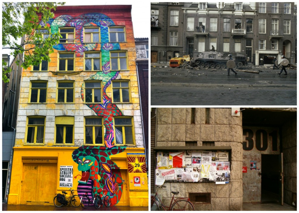 Many squats were demolished after 2010 | © Xuanxu / Flickr / The police used tanks to evict squatters in 1980 | © Croes, Rob C. / Anefo / Nationaal Archief, Den Haag / WikiCommons | OT301 was originally a squat | © daniel zimmel / Flickr