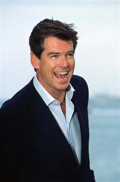 Pierce Brosnan in Cannes, not far from the road to Èze where he shot GoldenEye | © Rita Molnãr/flickr
