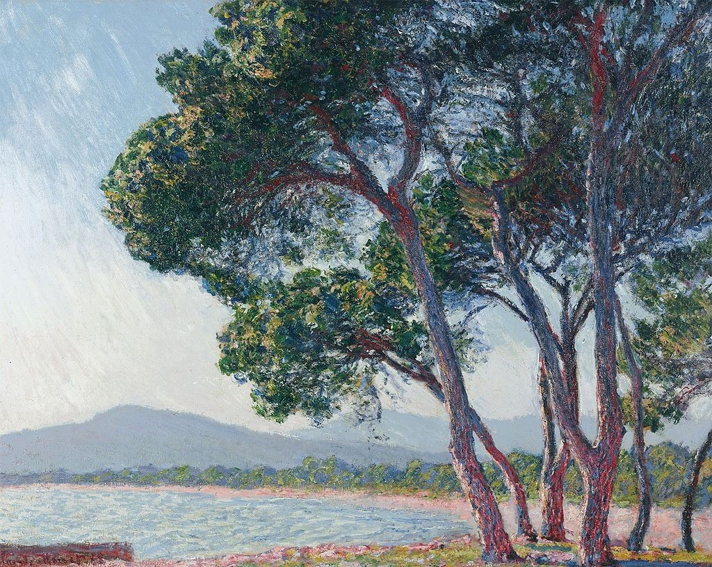 Monet painted the beach at Juan-les-Pins in 1888   © Claude Monet/Dickinson Gallery/WikiCommons