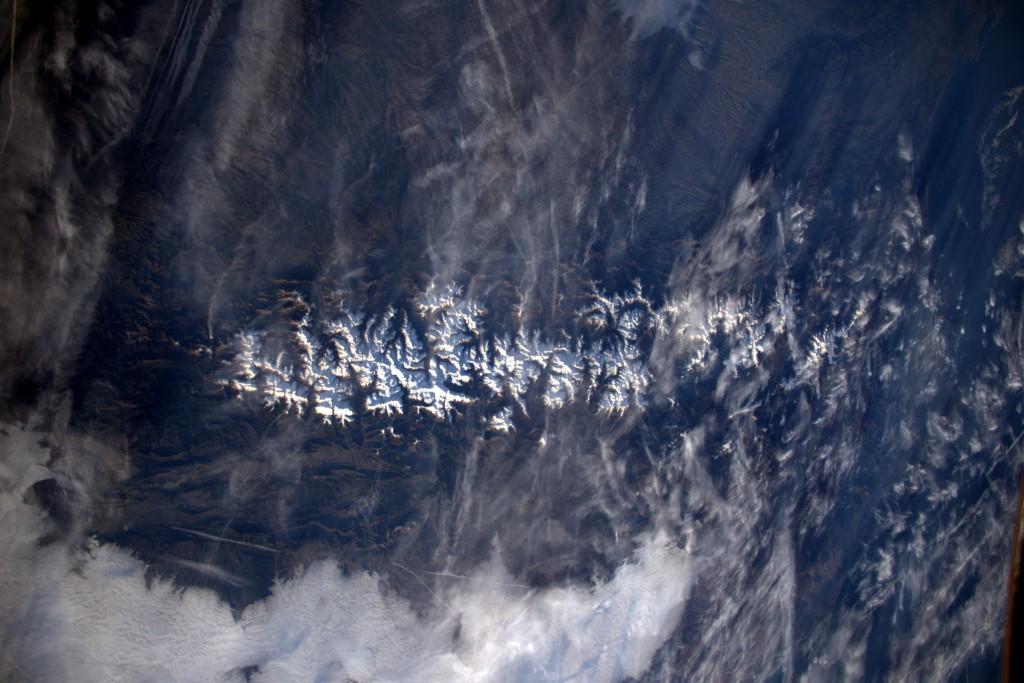 Pyrenees │© ESA/NASA