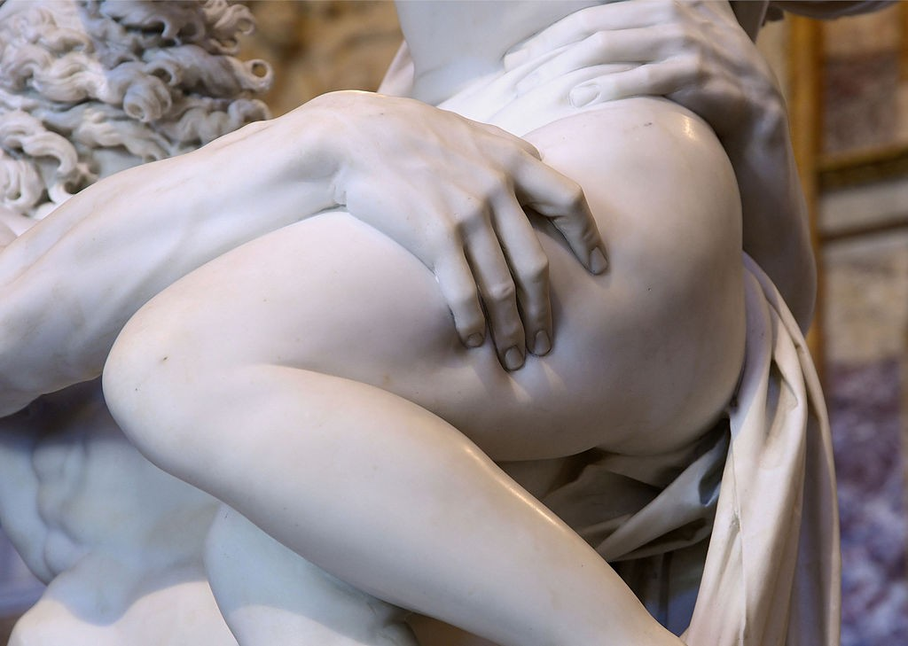 Detail of The Rape of Proserpina by Bernini   © Alvesgaspar/Wikicommons