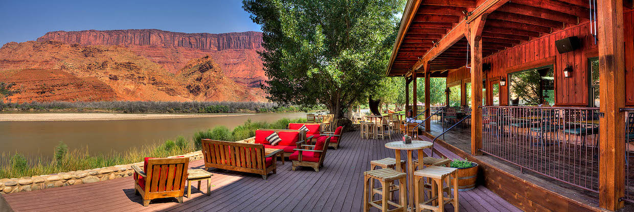 River Deck | Courtesy of Sorrel River Ranch Resort and Spa
