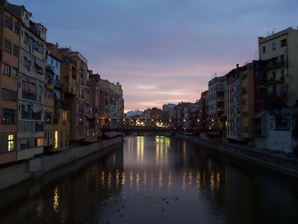River Onyar Girona | ©Tallaferro / Wikimedia Commons