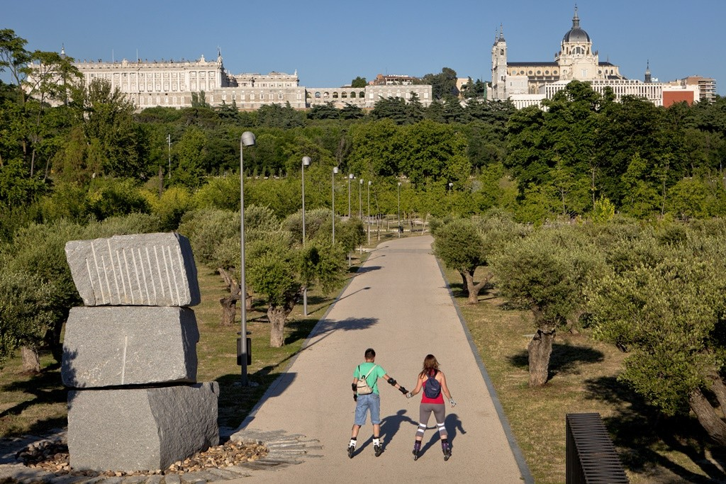 Rollerblade at Madrid's River Park © Madrid Destino Cultura Turismo y Negocio, 2013