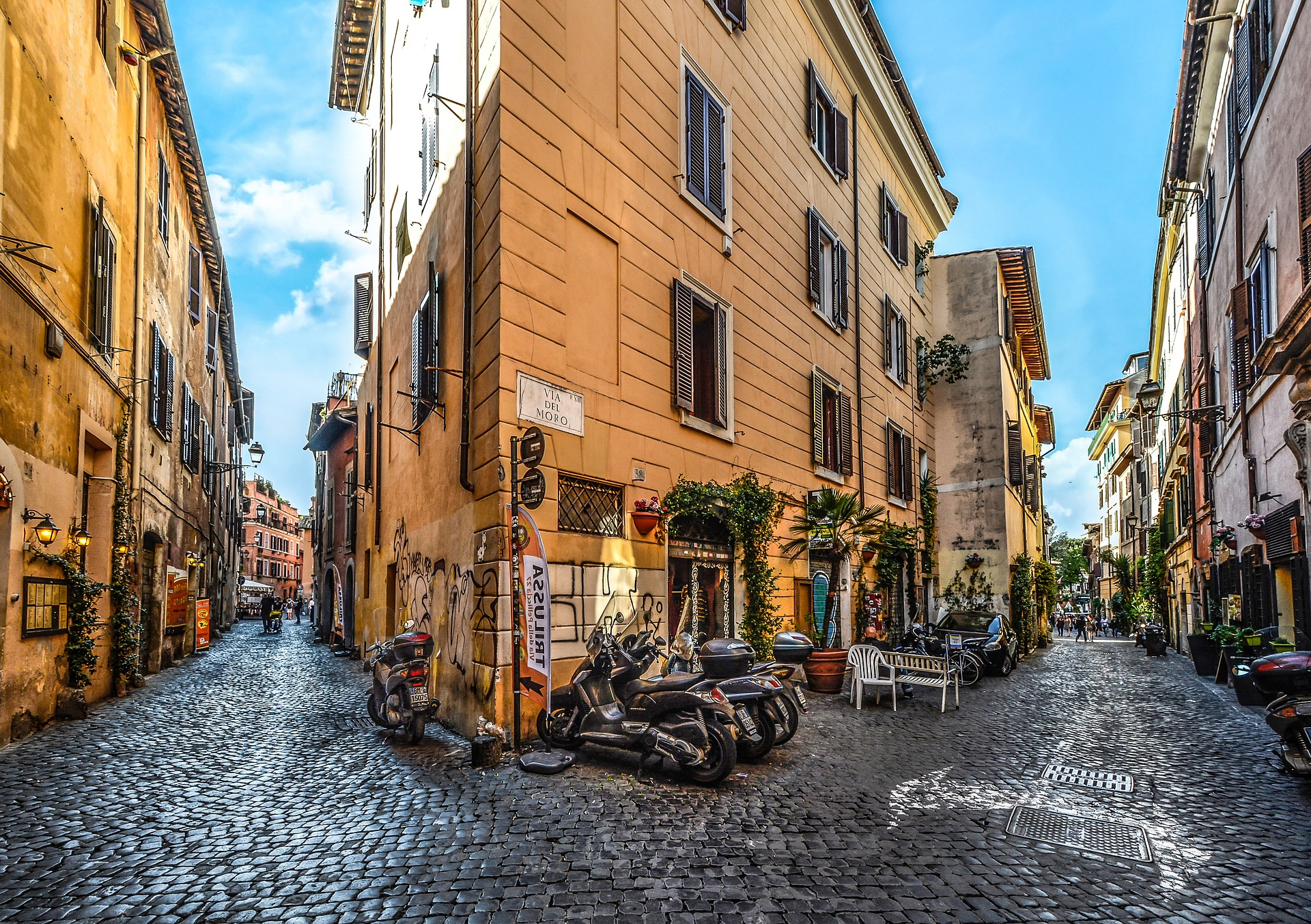 The coolest neighbourhoods in rome italy for Hotel trastevere rome