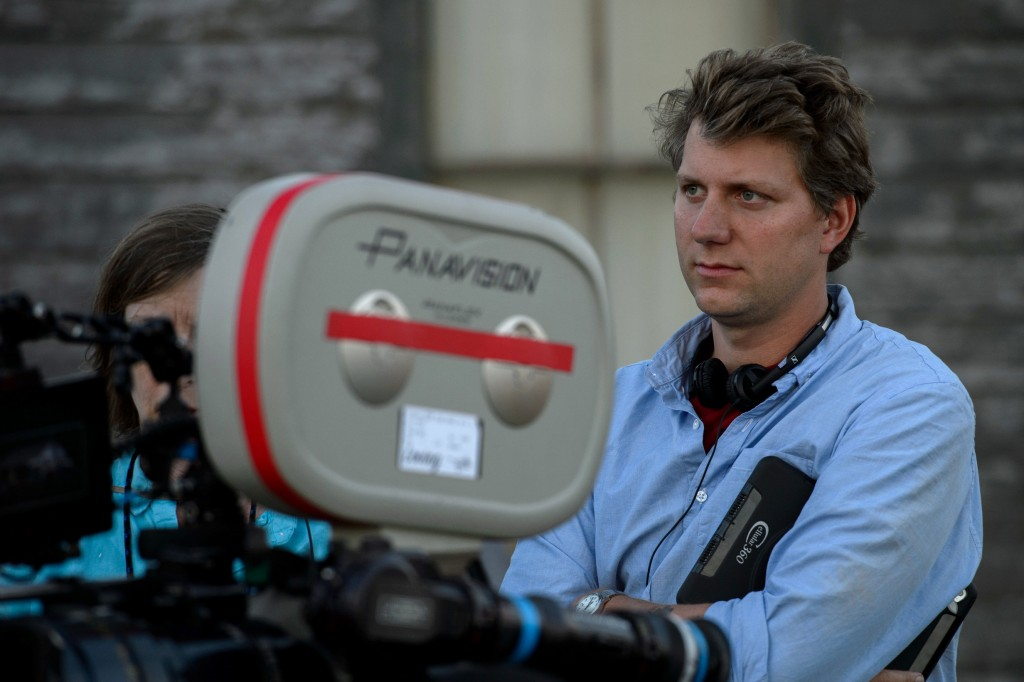 Jeff Nichols on the set of 'Loving'   © Universal Pictures UK