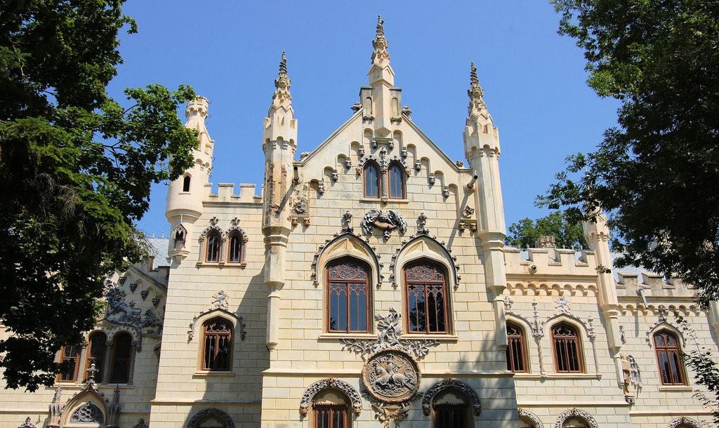 Miclăușeni Castle | © KLMircea / Flickr