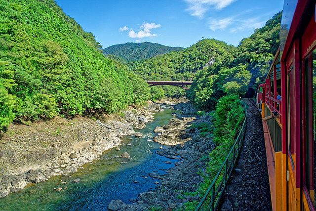 The Most Beautiful Places To Experience Nature In Kyoto - This amazing image is being called the most beautiful photo of kyoto ever