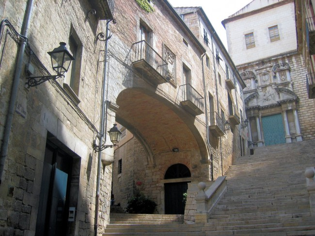 Sant Domènec stairs Girona   ©Racons gironins / Flickr