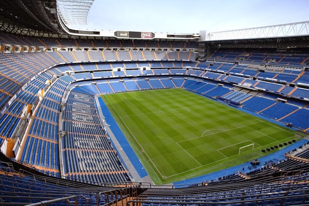 The famous Santiago Bernabéu stadium in Madrid   © Madrid Destino Cultura Turismo y Negocio